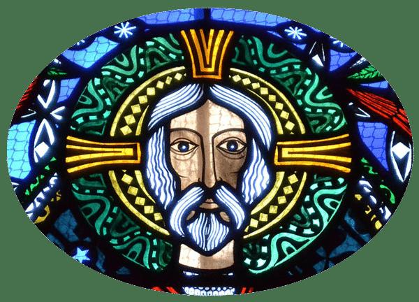 cathedrale de Clermont ; vitraux XXème, Christ