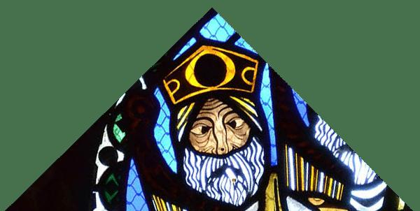 Cathédrale de Clermont ; vitraux roi