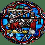 cathedrale de Clermont ; vitraux Noë