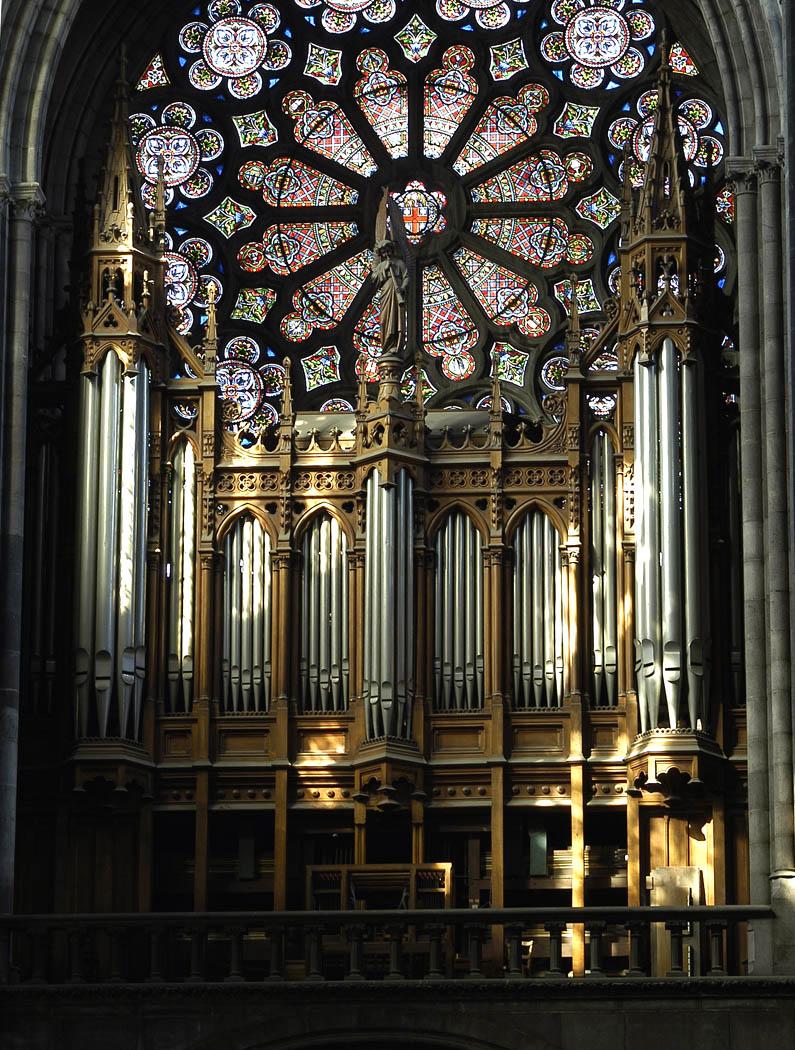 L orgue cath drale catholique notre dame de clermont - Clermont ferrand dijon ...