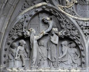 cathedrale de Clermont Viollet-le-duc, paradis