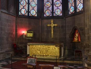 cathedrale de Clermont ; autel Kaeppelin