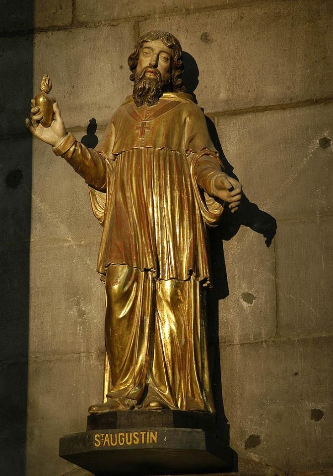 saint Augustin, cathédrale de Clermont