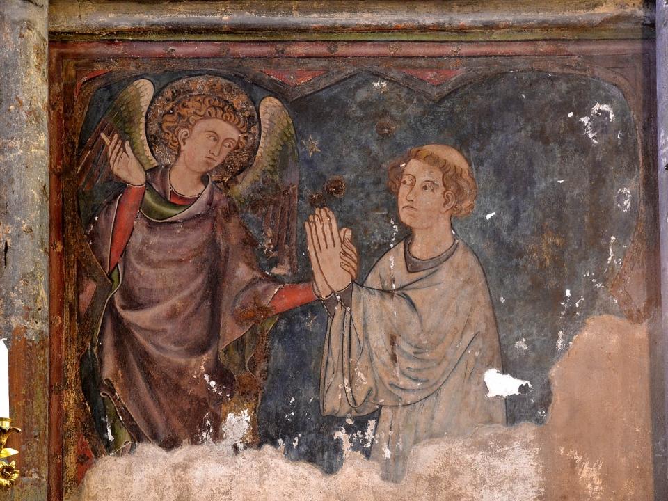 Cathédrale de Clermont ; peinture clerc