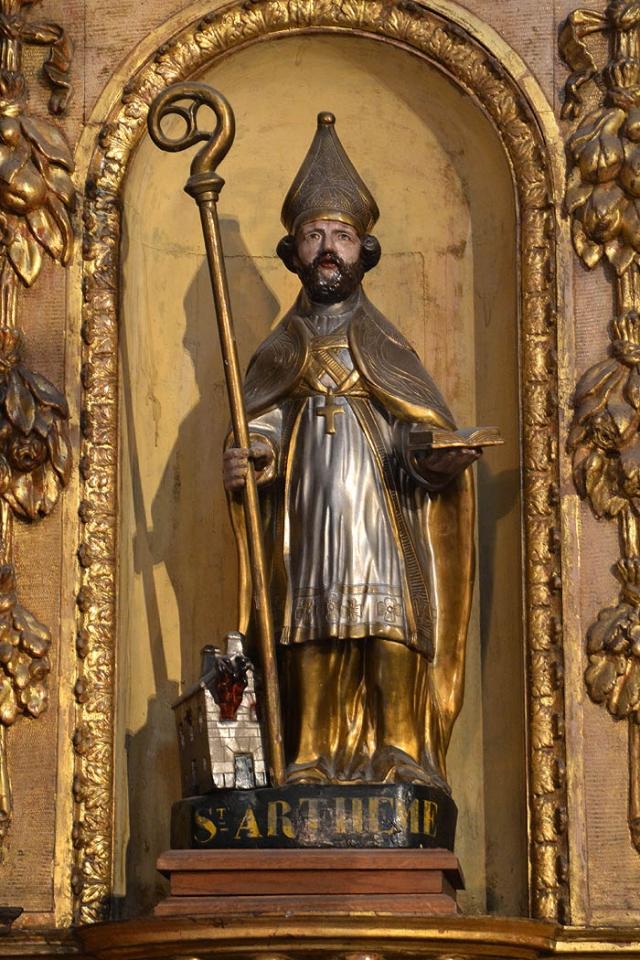 saint Arthème, cathédrale de Clermont