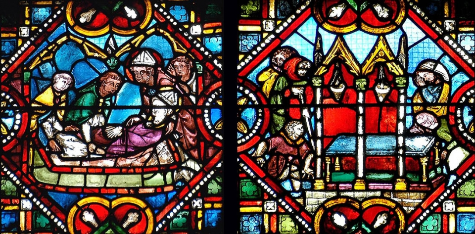 martyre de sainte Foy et saint Caprais