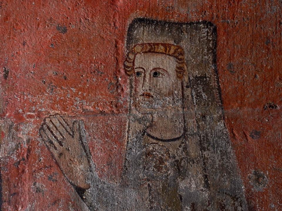 Cathédrale de Clermont ; peinture chanoine
