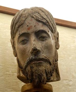 Cathédrale de Clermont ; statue- Christ