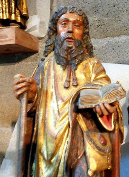 saint Jacques, trésor de la cathédrale de Clermont