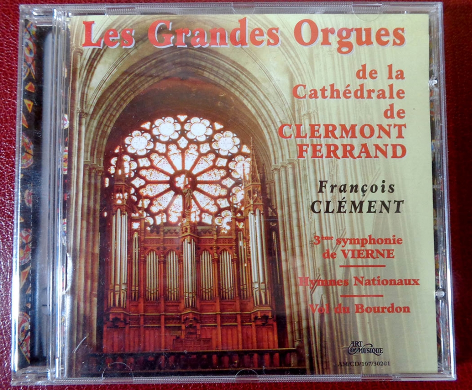 Cathédrale de Clermont ; CD