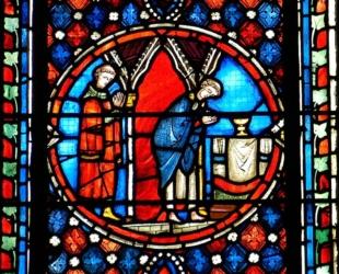 Cathédrale de Clermont ; vitraux Messe