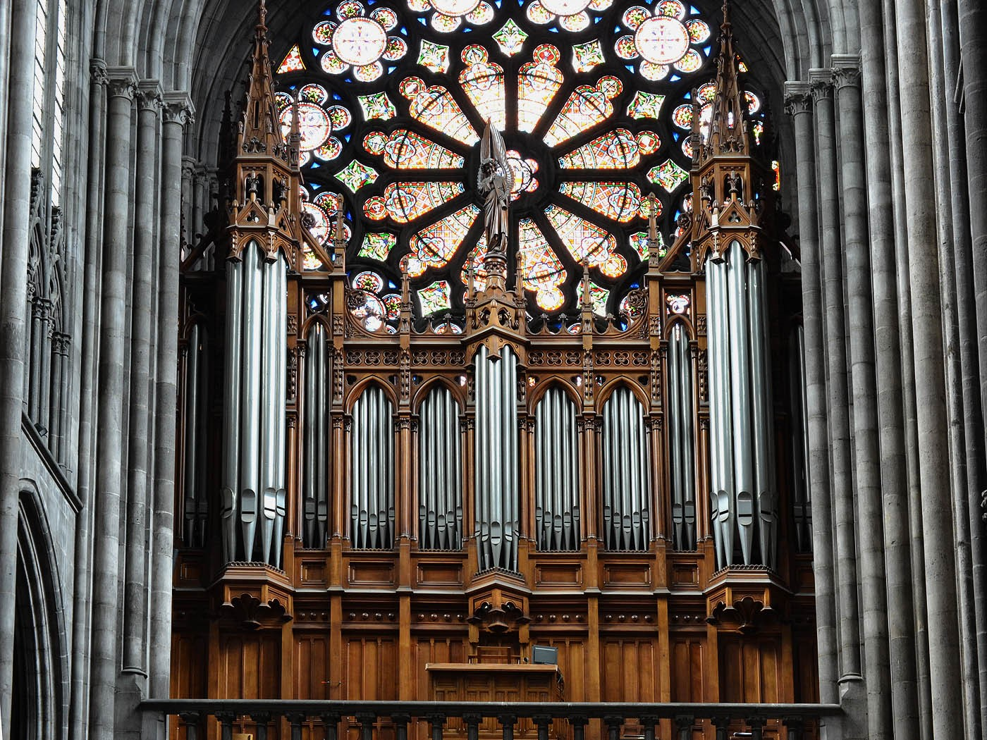 Cathédrale de Clermont ; grand orgue