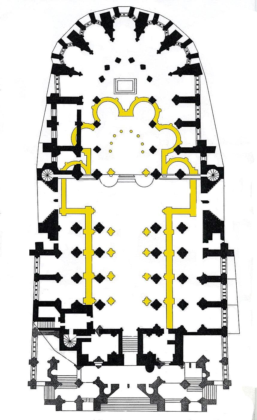 de la construction nos jours cath drale catholique notre dame de clermont. Black Bedroom Furniture Sets. Home Design Ideas