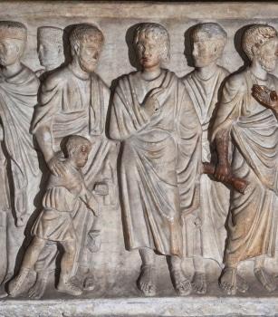 Cathédrale de Clermont ; sarcophage, aveugle