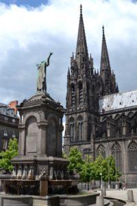 Cathédrale de Clermont ; exterieur