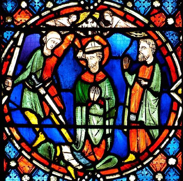 martyre de saint Austremoine, cathédrale de Clermont