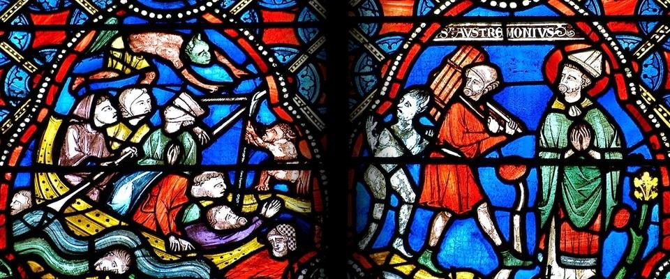 cathédrale Clermont vitraux st austremoine