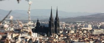 cathedrale de Clermont, vue de Montjuzet