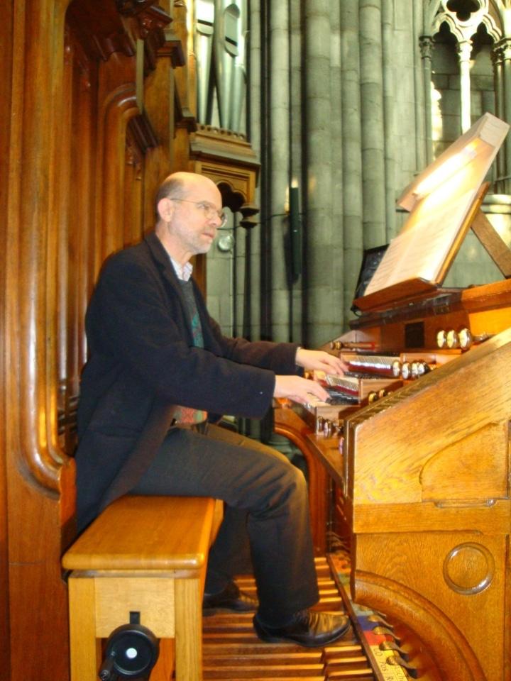 organiste cathédrale Clermont Didier Couderc