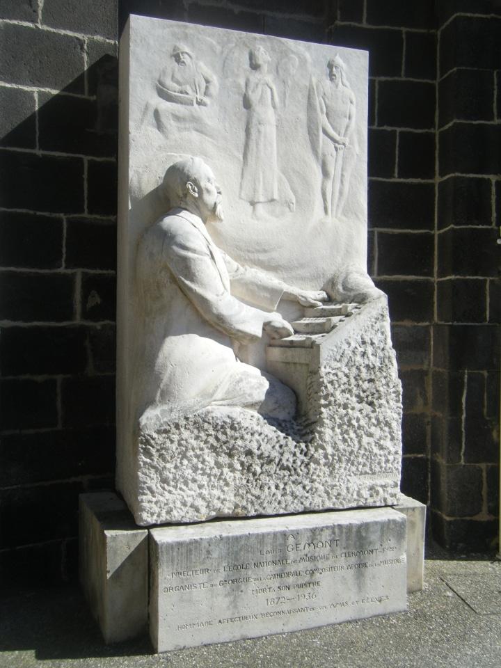 Organiste cathédrale Clermont : Louis Gémont