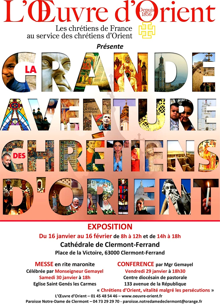 Exposition Chretiens Orient 20160116