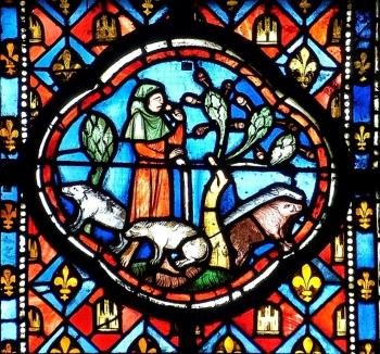 Le repentir de l'Enfant prodigue ; cathédrale de Clermont