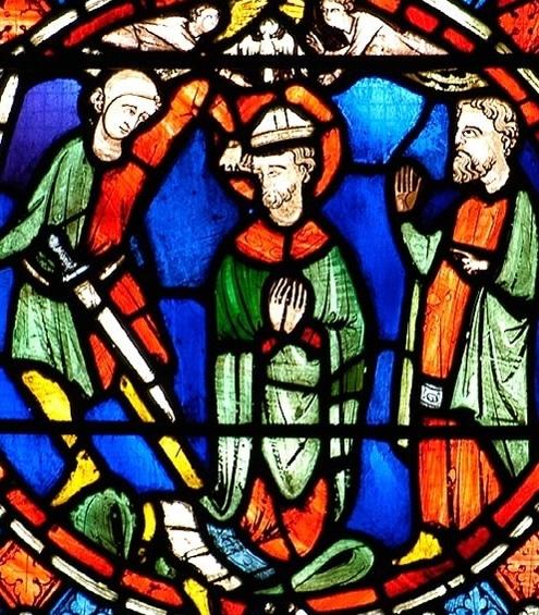 martyre de saint Austremoine, Cathédrale de Clermont, XIIIème siècle