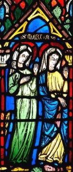 Les saintes marie-Madeleine et Marthe débarquant en Provence