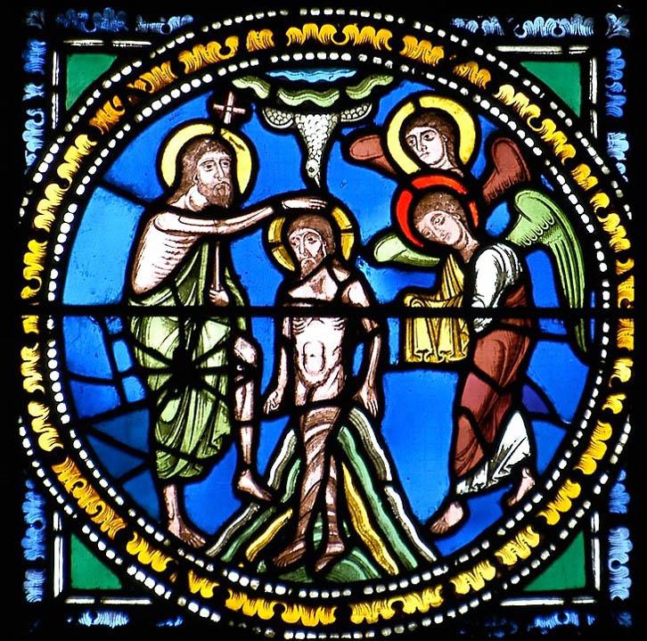 médaillon roman de la cathédrale de Clermont