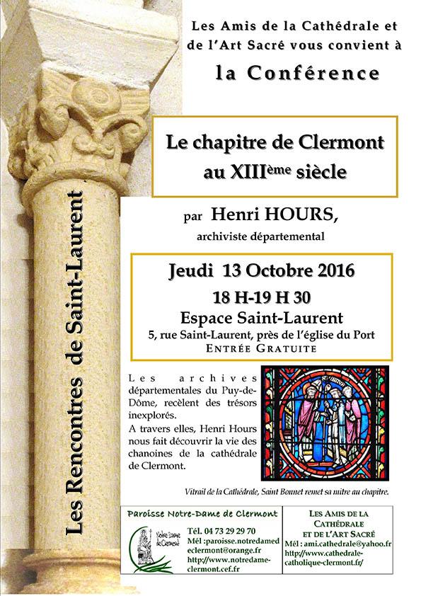 Le Chapitre de Clermont, Henri Hours