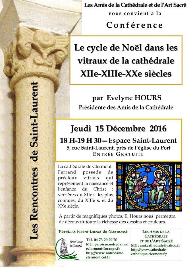 conférence Amis de la cathédrale Clermont
