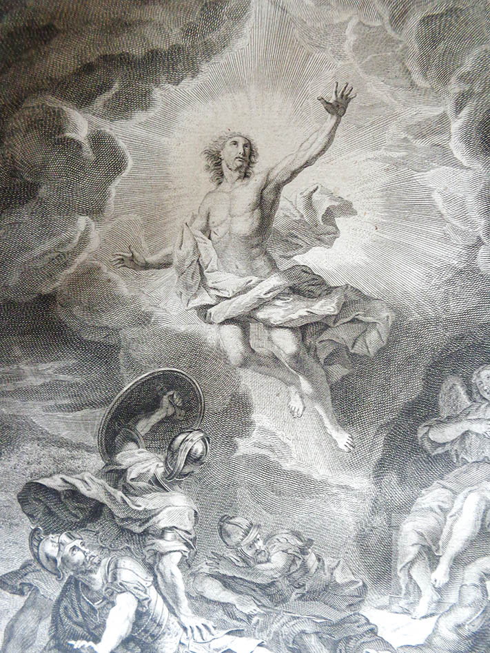 Résurrection du Christ, Missel de Massillon, cathédrale de Clermont