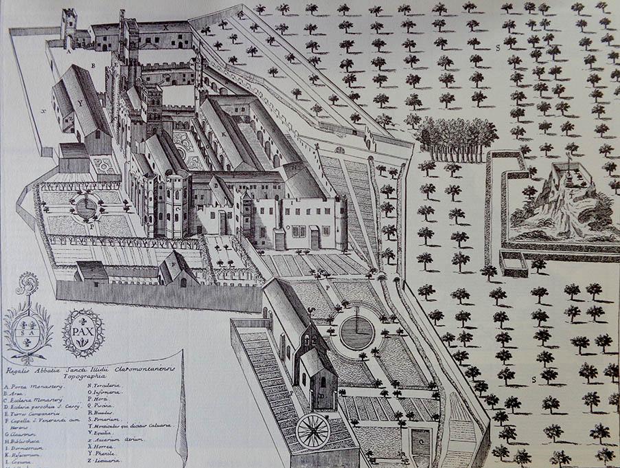 Amis de la Cathédrale -L'abbaye Saint-Allyre de Clermont