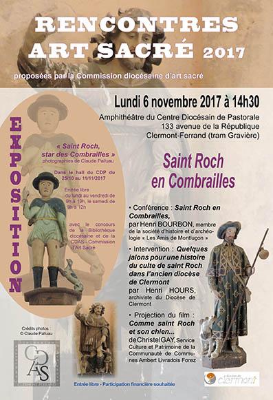 Cathédrale de Clermont. Conférence Saint Roch