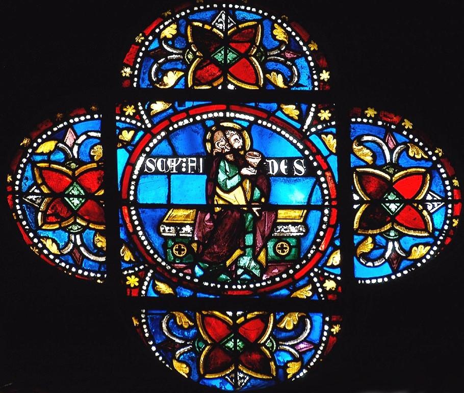 vitrail XIIIe Cathédrale de Clermont-Sainte Foy