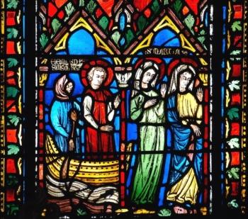 Marie-Madeleine débarquant à Marseille, cathédrale de Clermont
