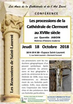 Rencontres de Saint-Laurent, Quentin Jaboin, cathédrale de Clermont