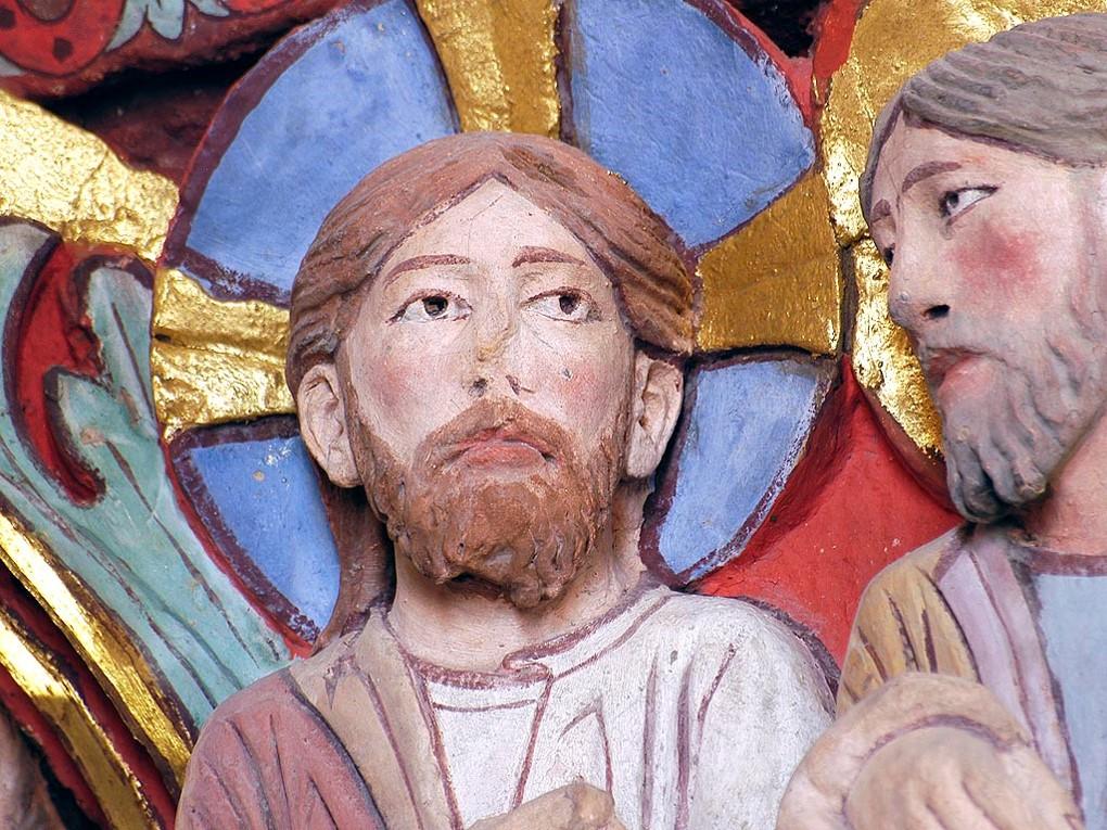 Christ, chapiteau d'Issoire