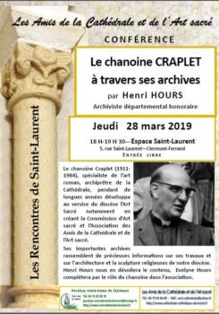 40 ans des Amis de la cathédrale de Clermont