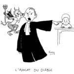 Avocat du diable, dessin de Kang