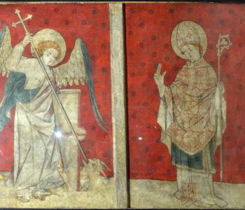 Ardes, église, saint Michel et saint Dizaint