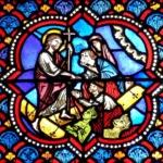 Descente aux enfers, médaillon gothique (vers 1220 ) cathédrale de Clermont