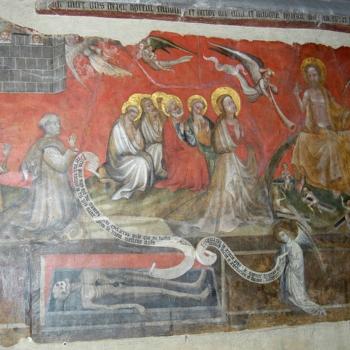 Ennezat, le Jugement dernier, le transi, les apôtres