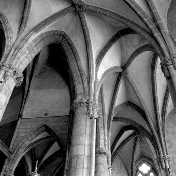 Ennezat, voûtes gothiques