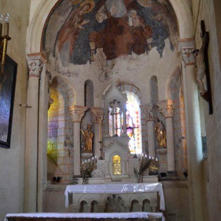 Glaine-Montaigut, l'abside centrale