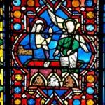 La Résurrection, médaillon gothique, cathédrale de Clermont