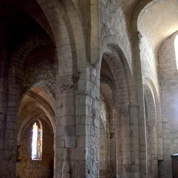 Arlans, église, nef adjacente