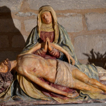 Arlanc, église, Pieta