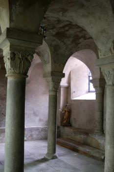 """Artonne, église, salle dite""""capitulaire"""""""