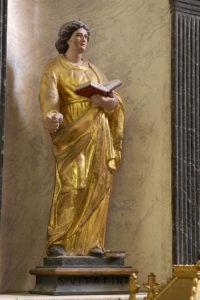Artonne, église, sainte Vitaline
